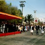 Los concurridos desfiles cívicos y patrióticos de Maipú, son unas de las tradiciones locales más recordadas, hoy lamentablemente desaparecidos.