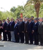 Autoridades e invitados especiales que presidieron la significativa ceremonia.