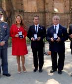 Autoridades y personalidades que recibieron la hermosa Moneda Cincuentenario de la Escuela de Suboficiales del Ejército.