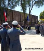 Honores al Pabellón Nacional.