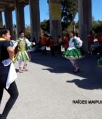 Bailes Religiosos a su llegada al Templo Votivo, el sábado 17 en la mañana, en la Fiesta de la Promesa 2018 (1)