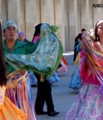 Bailes Religiosos a su llegada al Templo Votivo, el sábado 17 en la mañana, en la Fiesta de la Promesa 2018 (3)