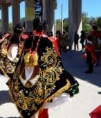 Bailes Religiosos a su llegada al Templo Votivo, el sábado 17 en la mañana, en la Fiesta de la Promesa 2018 (4)