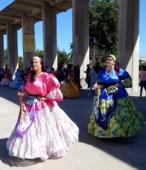 Bailes Religiosos a su llegada al Templo Votivo, el sábado 17 en la mañana, en la Fiesta de la Promesa 2018 (5)