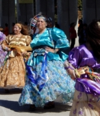 Bailes Religiosos a su llegada al Templo Votivo, el sábado 17 en la mañana, en la Fiesta de la Promesa 2018 (6)