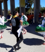 Bailes Religiosos a su llegada al Templo Votivo, el sábado 17 en la mañana, en la Fiesta de la Promesa 2018 (7)