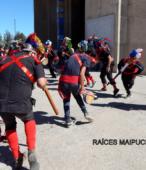 Fiesta de la Promesa 2018 en Maipú. Domingo 18 en vísperas de la gran Procesión por las calles céntricas de Maipú (4)