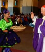 Fiesta de la Promesa 2018 en Maipú. Misa solemne, el domingo 18 a mediodía, presidida por el Cardenal Ricardo Ezzatti (14)