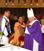 Fiesta de la Promesa 2018 en Maipú. Misa solemne, el domingo 18 a mediodía, presidida por el Cardenal Ricardo Ezzatti (27)