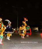 Fiesta de la Promesa 2018 en el Santuario de Maipú. Entrada de Pueblo de los Bailes concurrentes, el sábado 17 por la noche (11)