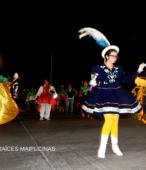 Fiesta de la Promesa 2018 en el Santuario de Maipú. Entrada de Pueblo de los Bailes concurrentes, el sábado 17 por la noche (12)