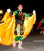 Fiesta de la Promesa 2018 en el Santuario de Maipú. Entrada de Pueblo de los Bailes concurrentes, el sábado 17 por la noche (13)