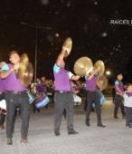 Fiesta de la Promesa 2018 en el Santuario de Maipú. Entrada de Pueblo de los Bailes concurrentes, el sábado 17 por la noche (15)