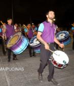 Fiesta de la Promesa 2018 en el Santuario de Maipú. Entrada de Pueblo de los Bailes concurrentes, el sábado 17 por la noche (16)