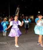 Fiesta de la Promesa 2018 en el Santuario de Maipú. Entrada de Pueblo de los Bailes concurrentes, el sábado 17 por la noche (17)