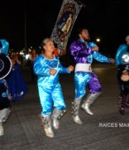 Fiesta de la Promesa 2018 en el Santuario de Maipú. Entrada de Pueblo de los Bailes concurrentes, el sábado 17 por la noche (18)