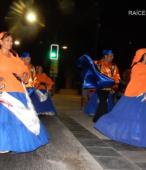 Fiesta de la Promesa 2018 en el Santuario de Maipú. Entrada de Pueblo de los Bailes concurrentes, el sábado 17 por la noche (19)