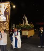 Fiesta de la Promesa 2018 en el Santuario de Maipú. Entrada de Pueblo de los Bailes concurrentes, el sábado 17 por la noche (2)