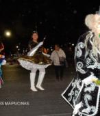 Fiesta de la Promesa 2018 en el Santuario de Maipú. Entrada de Pueblo de los Bailes concurrentes, el sábado 17 por la noche (3)