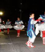 Fiesta de la Promesa 2018 en el Santuario de Maipú. Entrada de Pueblo de los Bailes concurrentes, el sábado 17 por la noche (4)
