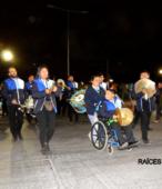 Fiesta de la Promesa 2018 en el Santuario de Maipú. Entrada de Pueblo de los Bailes concurrentes, el sábado 17 por la noche (5)