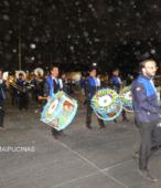 Fiesta de la Promesa 2018 en el Santuario de Maipú. Entrada de Pueblo de los Bailes concurrentes, el sábado 17 por la noche (6)