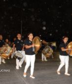 Fiesta de la Promesa 2018 en el Santuario de Maipú. Entrada de Pueblo de los Bailes concurrentes, el sábado 17 por la noche (7)