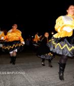 Fiesta de la Promesa 2018 en el Santuario de Maipú. Entrada de Pueblo de los Bailes concurrentes, el sábado 17 por la noche (9)