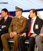 Autoridades civiles y militares que presidieron la ceremonia de la comunidad de Maipú, recordatoria de los 200 años de la Batalla del 5 de abril de 1818 (11)