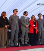 Autoridades civiles y militares que presidieron la ceremonia de la comunidad de Maipú, recordatoria de los 200 años de la Batalla del 5 de abril de 1818 (2)