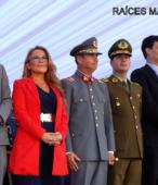 Autoridades civiles y militares que presidieron la ceremonia de la comunidad de Maipú, recordatoria de los 200 años de la Batalla del 5 de abril de 1818 (3)