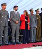 Autoridades civiles y militares que presidieron la ceremonia de la comunidad de Maipú, recordatoria de los 200 años de la Batalla del 5 de abril de 1818 (5)