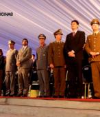 Autoridades civiles y militares que presidieron la ceremonia de la comunidad de Maipú, recordatoria de los 200 años de la Batalla del 5 de abril de 1818 (6)