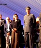 Autoridades civiles y militares que presidieron la ceremonia de la comunidad de Maipú, recordatoria de los 200 años de la Batalla del 5 de abril de 1818 (7)