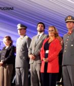 Autoridades civiles y militares que presidieron la ceremonia de la comunidad de Maipú, recordatoria de los 200 años de la Batalla del 5 de abril de 1818 (9)