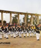 Banda del Colegio Patricio Mekis de Maipú, que acompañó el paso de las instituciones y fuerzas vivas de la comuna (1)