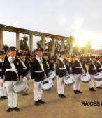 Banda del Colegio Patricio Mekis de Maipú, que acompañó el paso de las instituciones y fuerzas vivas de la comuna (4)