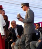 Brindis de chica en cacho ofrecido a las autoridades e invitados, por el Club de Rodeo Alberto Llona Reyes de Maipú (2)