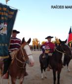 Club del Rodeo Chileno Alberto Llona Reyes de Maipú, que ofreció el esquinazo y el brindis de chicha en cacho (1)