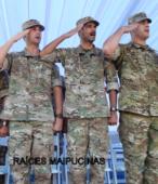 Delegación del Ejército Argentino presente en el acto, perteneciente al Regimiento de Infantería de montaña Nº 11 General Las Heras (1)