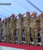 Delegación del Ejército Argentino presente en el acto, perteneciente al Regimiento de Infantería de montaña Nº 11 General Las Heras (2)