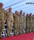 Delegación del Ejército Argentino presente en el acto, perteneciente al Regimiento de Infantería de montaña Nº 11 General Las Heras (3)