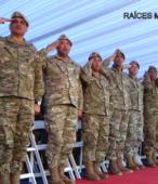 Delegación del Ejército Argentino presente en el acto, perteneciente al Regimiento de Infantería de montaña Nº 11 General Las Heras (4)