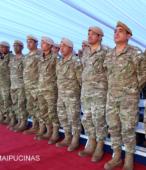 Delegación del Ejército Argentino presente en el acto, perteneciente al Regimiento de Infantería de montaña Nº 11 General Las Heras (5)