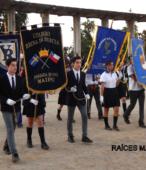 Delegaciones de todos los colegios de la Corporación Municipal de Maipú, tomaron parte en el desfile cívico efectuado en esta ocasión (12)