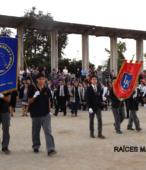 Delegaciones de todos los colegios de la Corporación Municipal de Maipú, tomaron parte en el desfile cívico efectuado en esta ocasión (16)