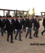 Delegaciones de todos los colegios de la Corporación Municipal de Maipú, tomaron parte en el desfile cívico efectuado en esta ocasión (18)
