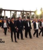 Delegaciones de todos los colegios de la Corporación Municipal de Maipú, tomaron parte en el desfile cívico efectuado en esta ocasión (21)