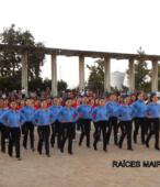 Delegaciones de todos los colegios de la Corporación Municipal de Maipú, tomaron parte en el desfile cívico efectuado en esta ocasión (26)