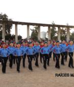 Delegaciones de todos los colegios de la Corporación Municipal de Maipú, tomaron parte en el desfile cívico efectuado en esta ocasión (27)